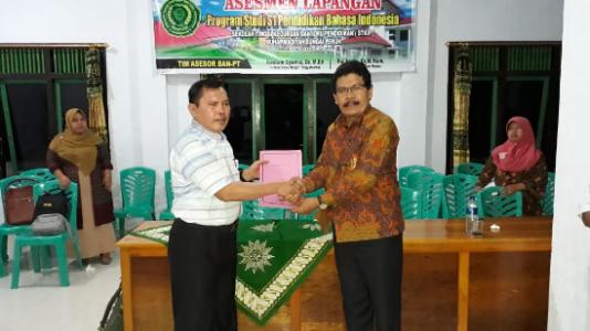 ASESMEN LAPANGAN AKREDITASI Program Studi S1 Pendidikan Bahasa Indonesia